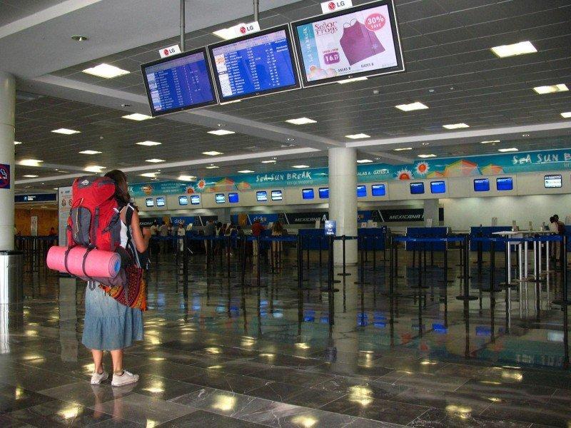 Por el aeropuerto de Cancún pasaron 1,9 millones de pasajeros.