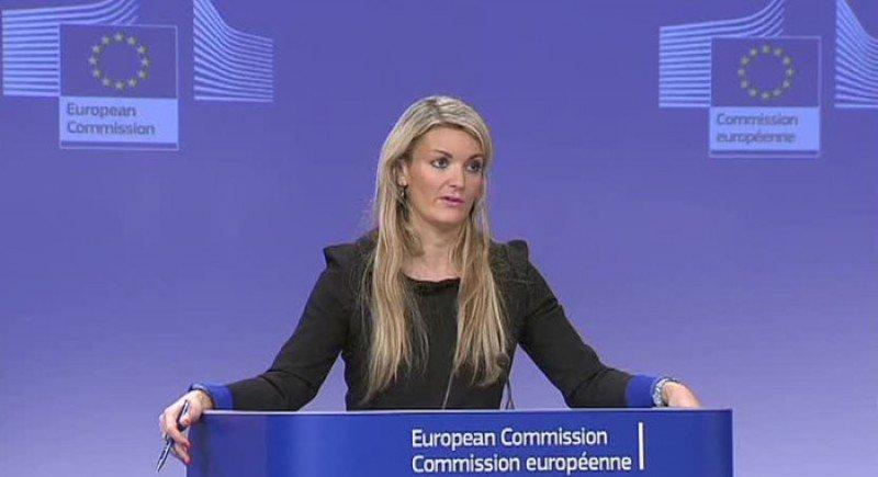 Mina Andreeva, portavoz de la Comisión Europea.