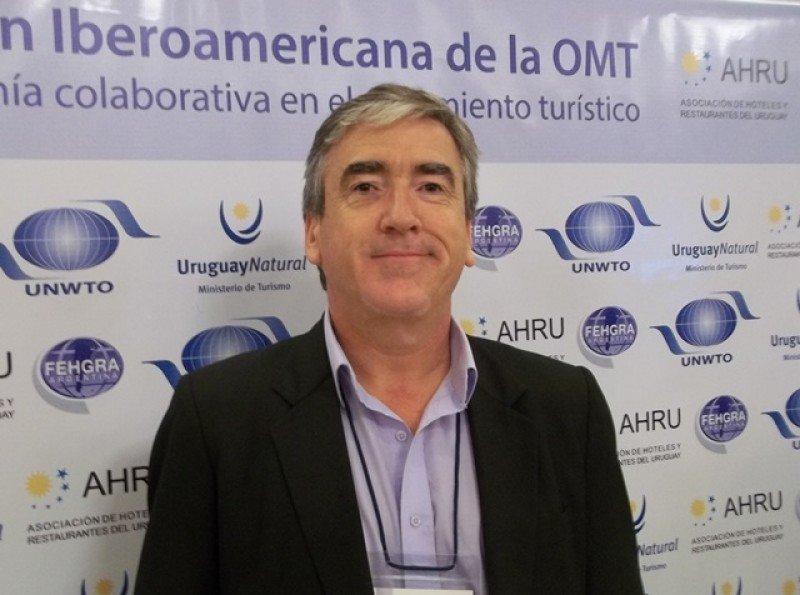 Francisco Bistiancic, presidente de la asociación de inmobiliarias ADIPE-CIDEM.
