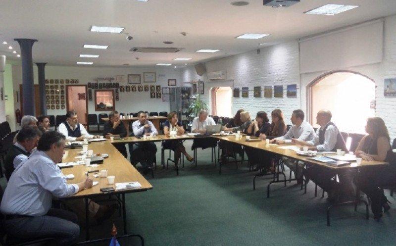 Reunión del Montevideo Bureau en la que fue presentada la nueva coordinadora de la Unidad de Captación de Congresos.