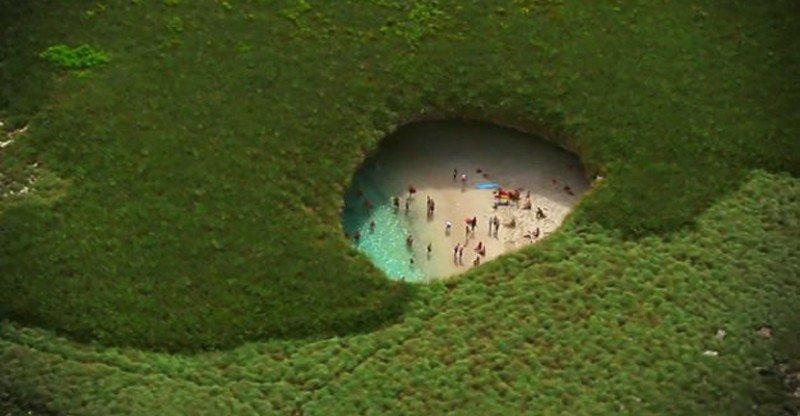 Cierran al turismo la 'Playa del Amor' en México