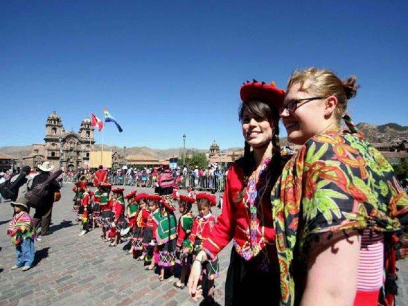 La ciudad de Cusco recibió más de 1,8 millones de visitantes en 2015.