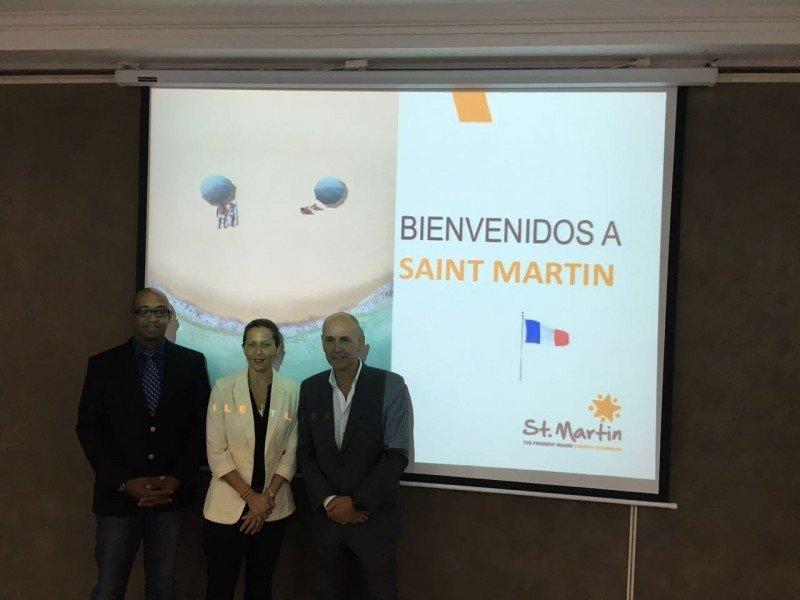 Fabien Charbonnier, Kate Richardson y Marcelino Suárez.