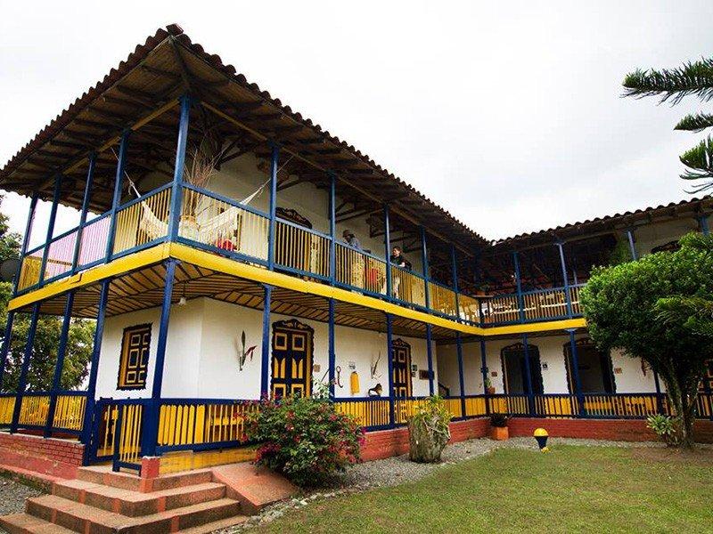 Sercotel Hotel Combia Hacienda Colonial.