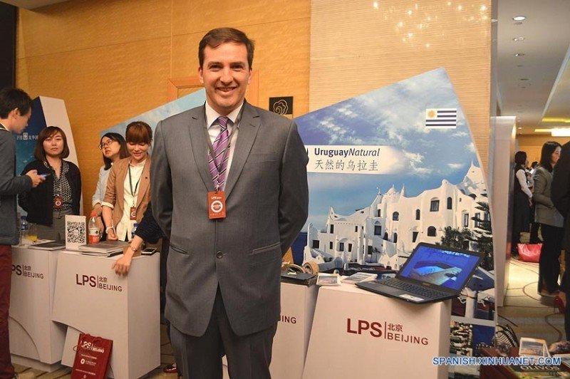 Fernando Lugris, embajador de Uruguay en China.