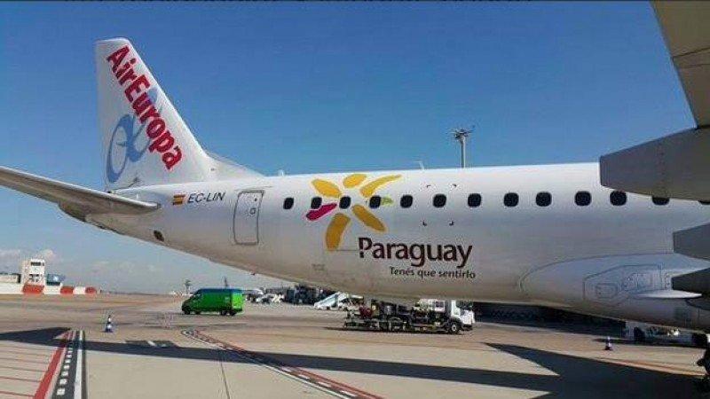 Paraguay es el destino más reciente de Air Europa en Sudamérica. Foto: El País de Paraguay