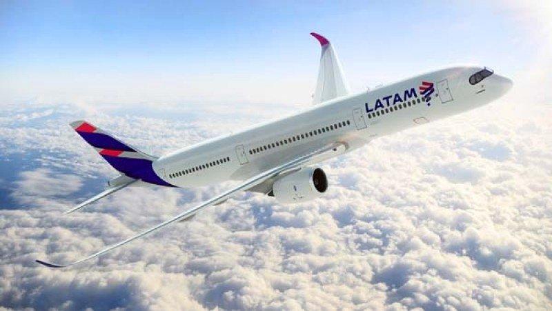 Nueva apariencia de los aviones del grupo LATAM Airlines.