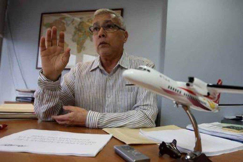 Humberto Figuera, presidente de la Asociación de Líneas Aéreas de Venezuela (ALAV). FOTO: El Universal.