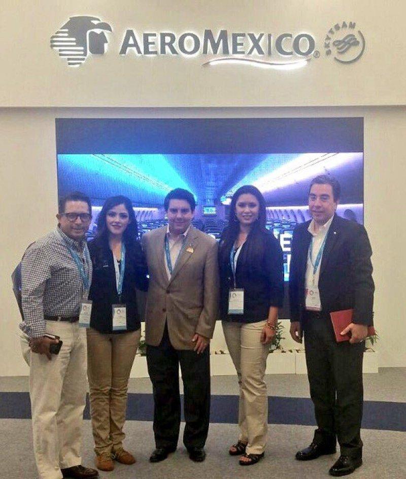 Aeroméxico: ocho nuevas rutas y el 23% del mercado mexicano en 2015