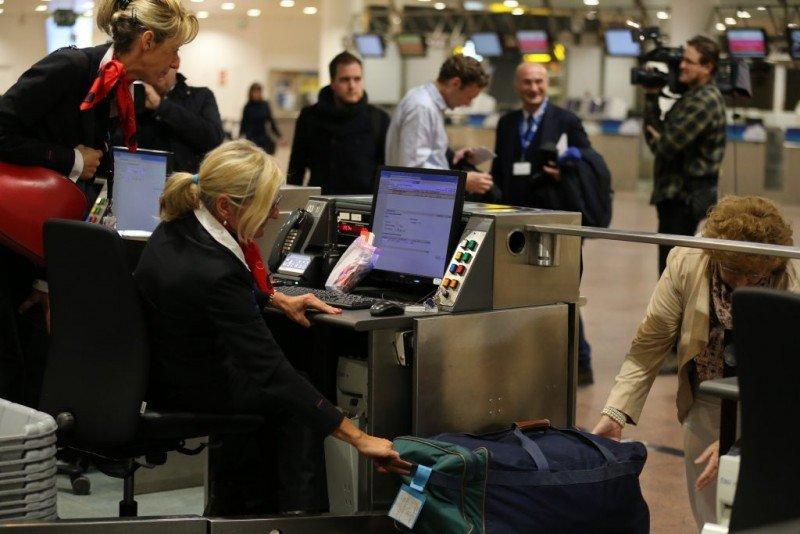 El aeropuerto belga ha puesto en funcionamiento 111 mostradores de su hall de salidas.