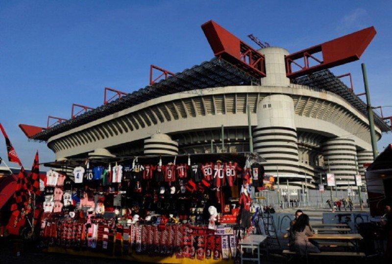 El  estadio Giuseppe Meazza, más conocido como San Siro, acoge la final madrileña de la UEFA Champions League (Foto: UEFA).