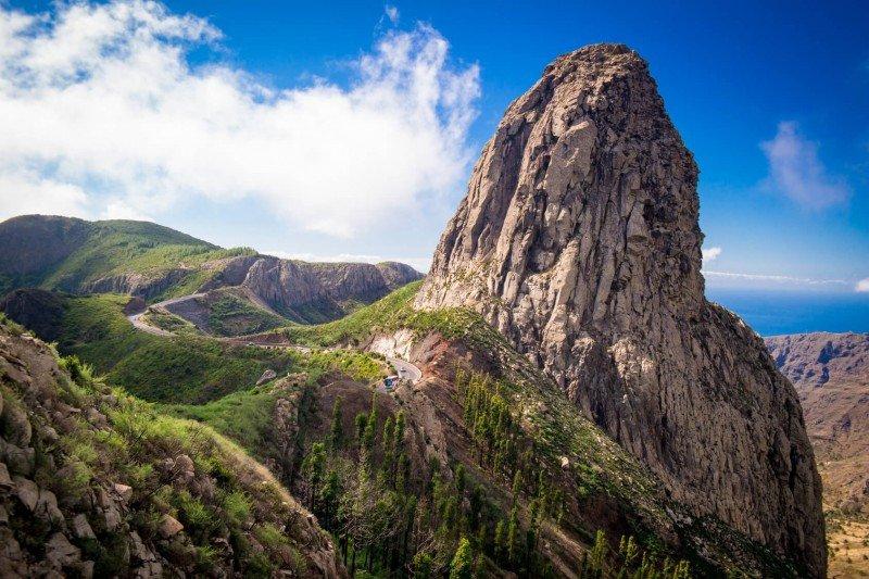 Los roques de La Gomera.