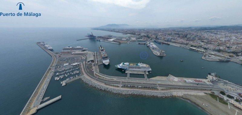 Puertos del Estado apoya el proyecto de hotel de Málaga
