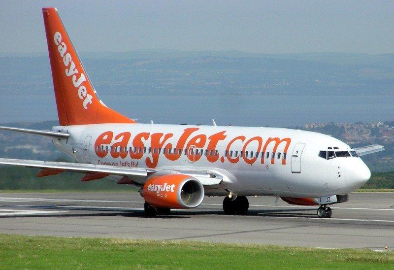 EasyJet pierde en seis meses 25,7 M €