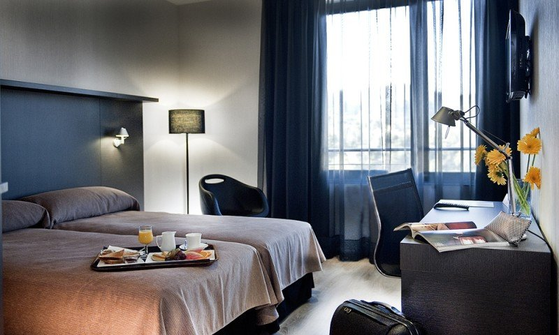 Las tarifas diurnas permiten disfrutar de las instalaciones del hotel a un precio muy reducido con respecto a la tarifa estándar. En la imagen, el hotel Alimara.