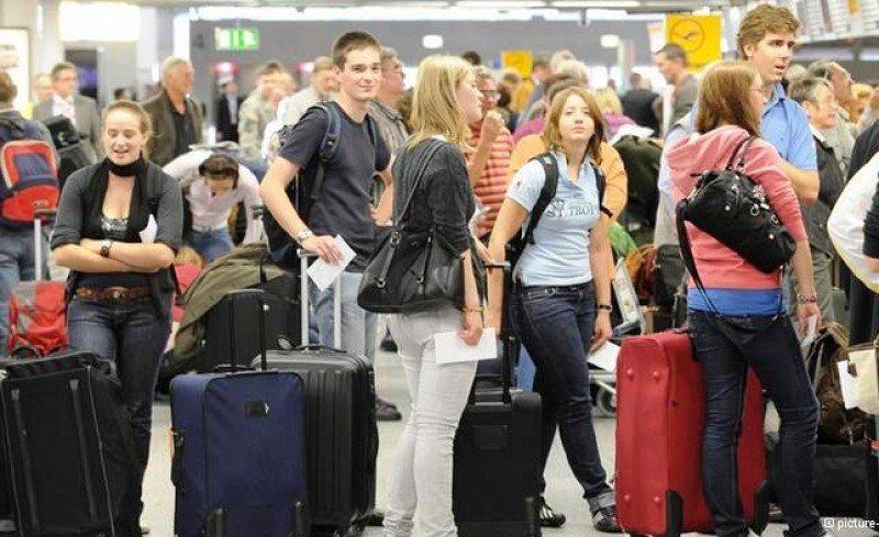 La demanda de avión en el mercado doméstico creció el doble que la del AVE
