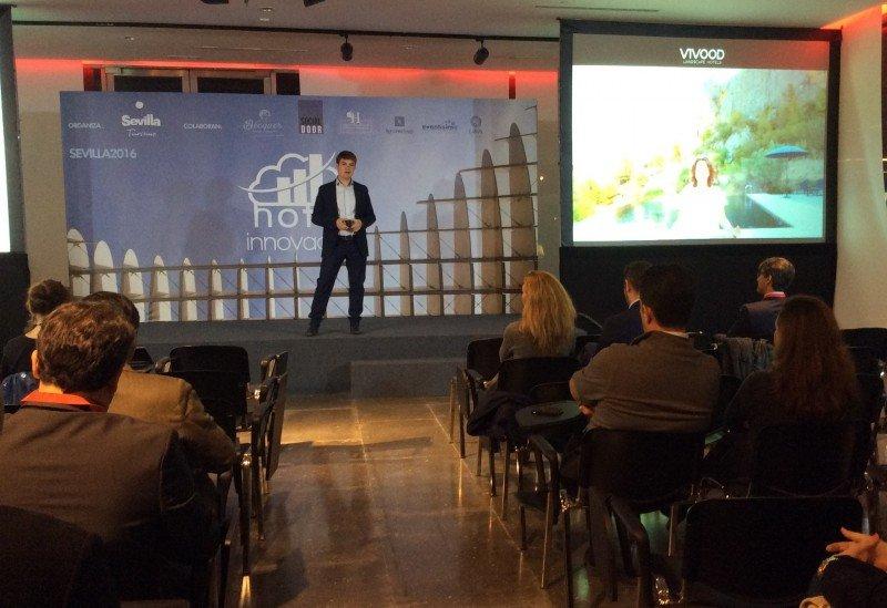El CEO de Vivood Landscape Hotels, Daniel Mayo.