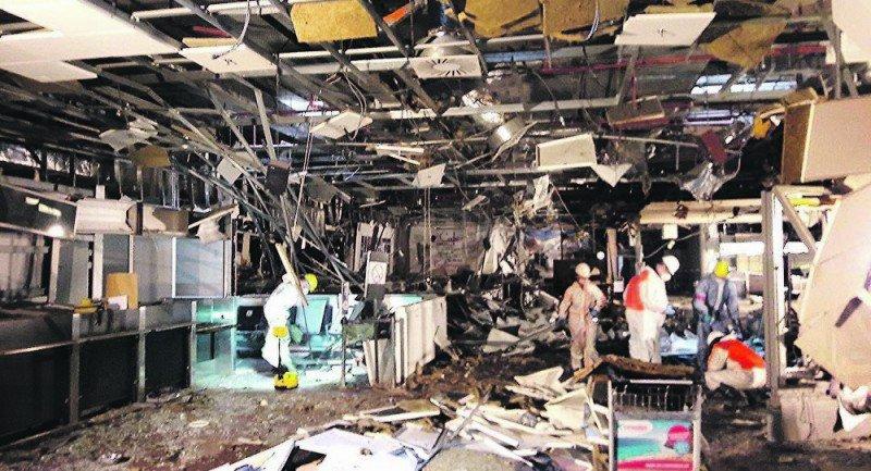 El Aeropuerto de Bruselas pierde 90M € y el 30% de tráfico tras los ataques