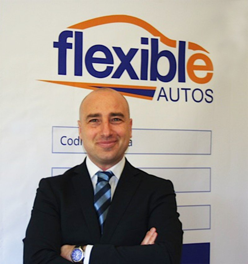 Alessandro Patacchiola, director general para España, Italia y Portugal de Flexible Autos.