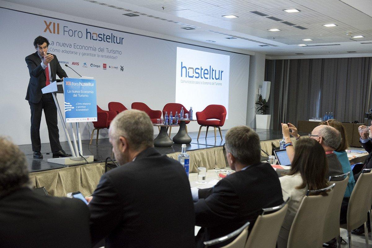 Carlos Chaguaceda, director de Turismo de la Comunidad de Madrid, inauguró el Foro Hosteltur 2016.