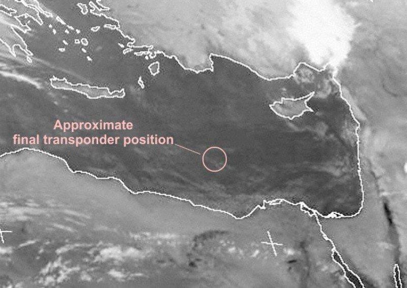 Imagen satélite de infrarrojos de SEVIRI, 19 de mayo a las 00:00Z (Foto: AVH / Meteosat).
