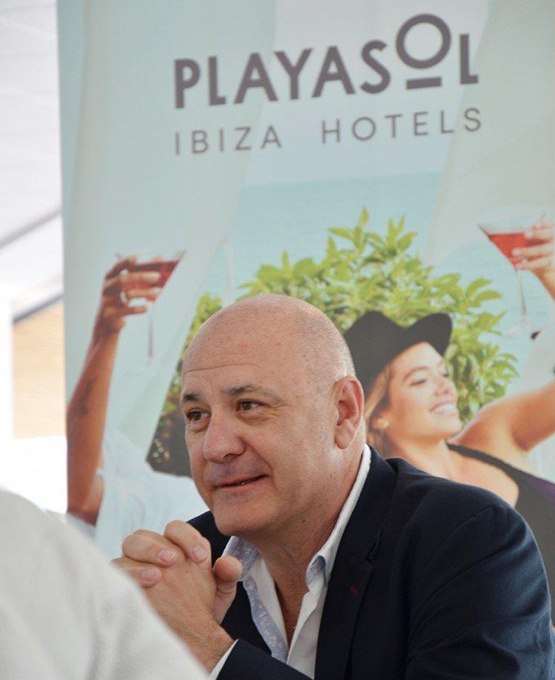 Antonio Domenech, director de Playasol Ibiza Hotels.