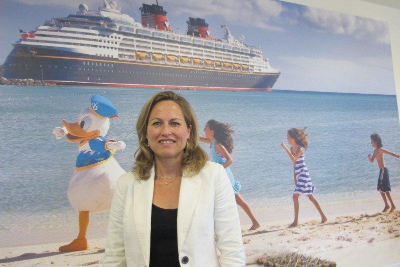 Laure Glatron, directora general de Destinos Disney para el sur de Europa.