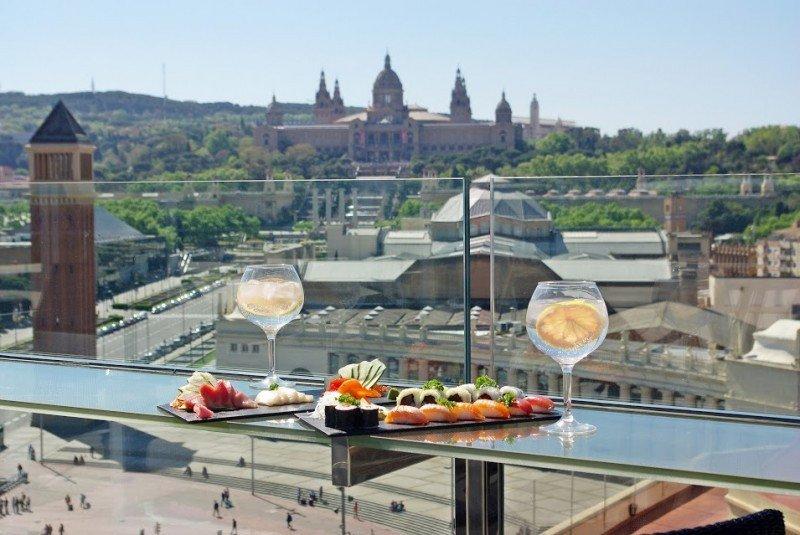 The Clock Terrace, en el Catalonia Barcelona Plaza, es uno de los 14 restaurantes que se han incorporado a la nueva marca.