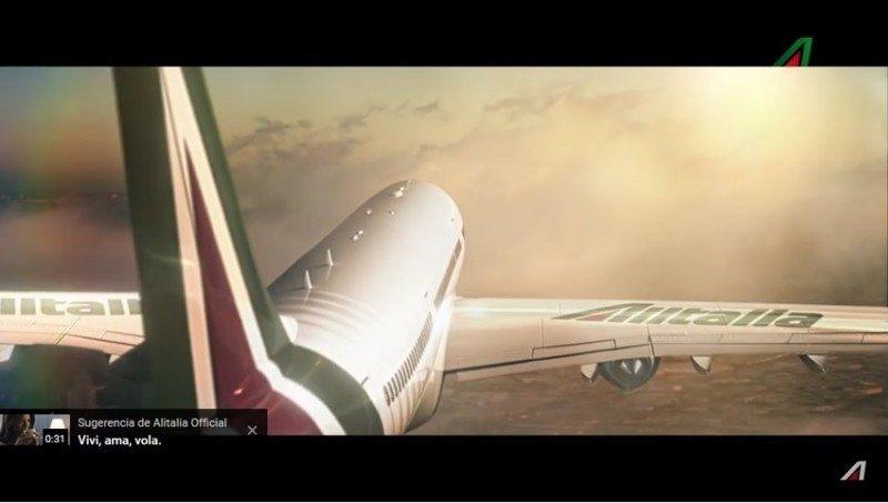 Volare, la campaña de lanzamiento mundial de la nueva marca de Alitalia