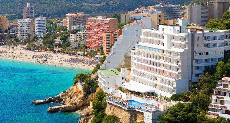 Magaluf ha apostado por atraer un turismo de mayor calidad. Foto Universal Hotels.
