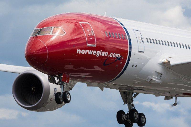 Norwegian aumenta su flota de largo radio con más aviones 787 Dreamliner