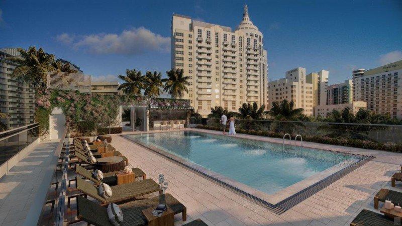 El Iberostar Berkeley será un hotel boutique de 96 habitaciones en el distrito art decó de South Beach.