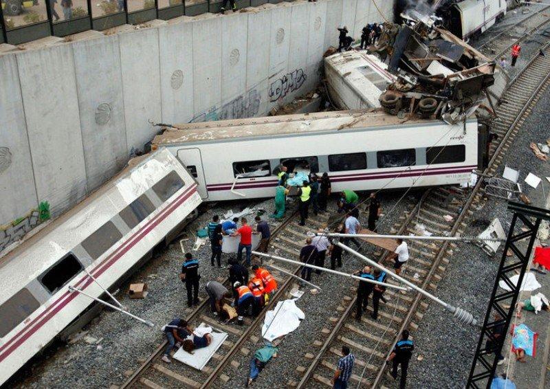 Accidente de tren en Santiago: determinarán la responsabilidad de Adif