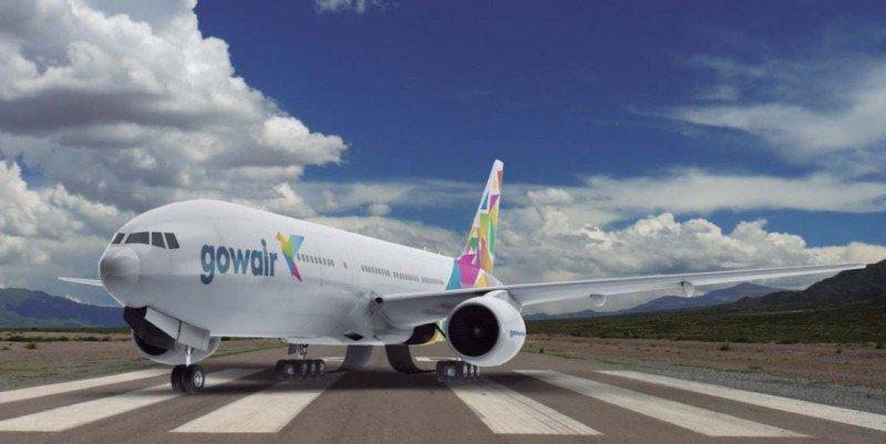 Montaje de como quedarán los aviones de Gowair.
