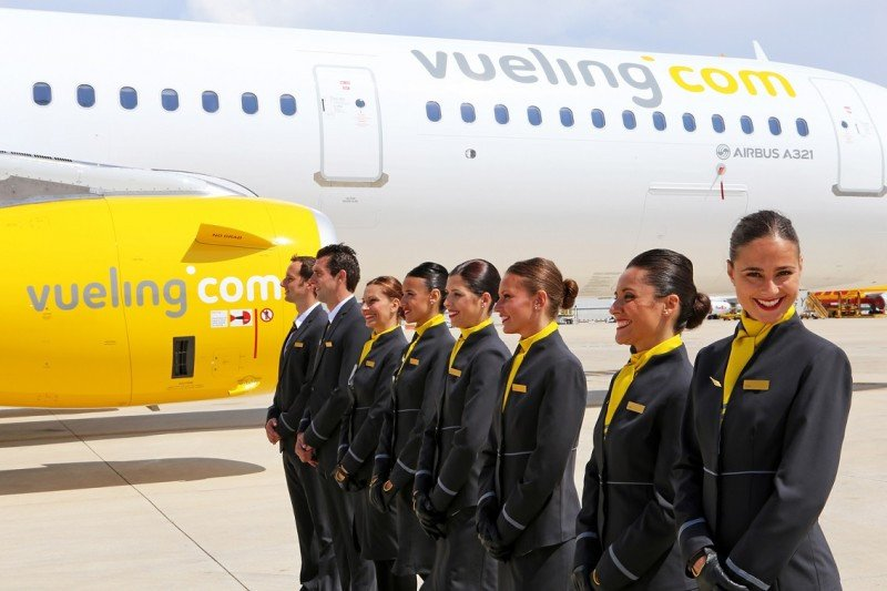 Vueling busca 400 TCP para sus bases nacionales y europeas