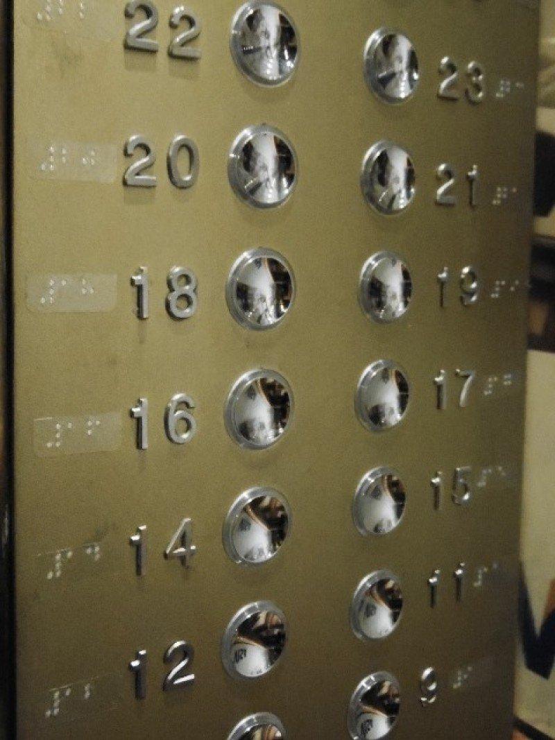 Los ascensores y habitaciones tienen ahora indicaciones en Brasille.