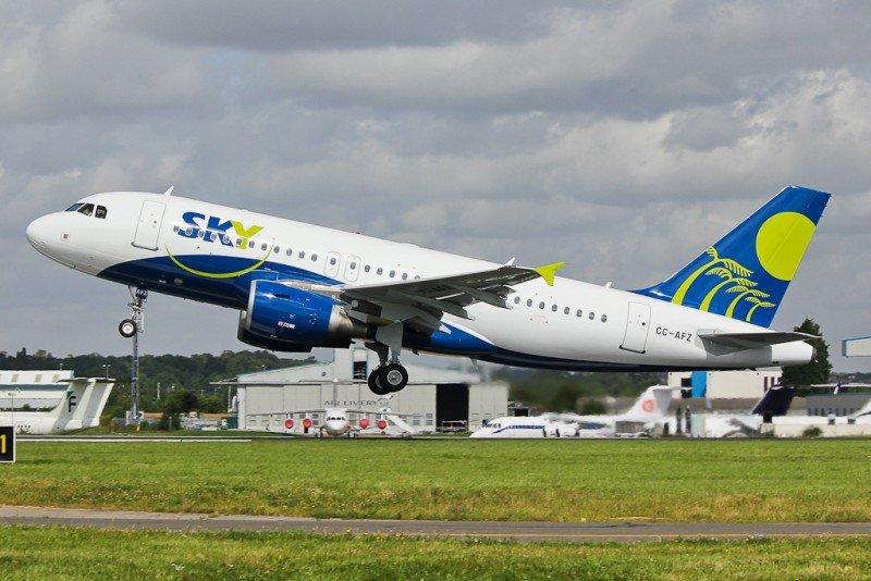 Sky Airline refuerza sus operaciones en Argentina.