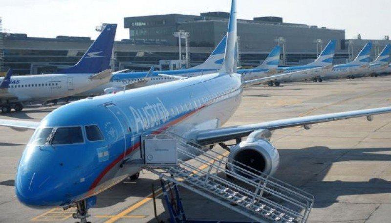 Aerolíneas Argentinas reforzará operaciones a la Patagonia en invierno