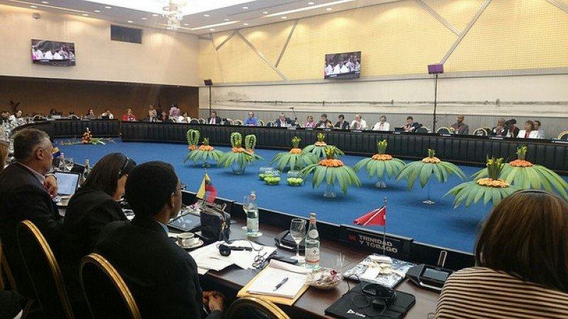 Delegados de la Comisión para las Américas reunidos en La Habana. Foto: OMT