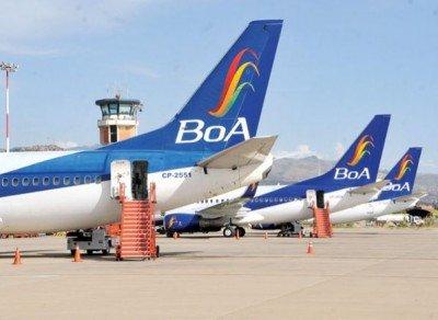 Boliviana de Aviación comenzó con tres aviones y ahora tiene más de 20.