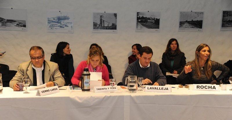 Directores departamentales de turismo en la reunión con la cúpula del ministerio.