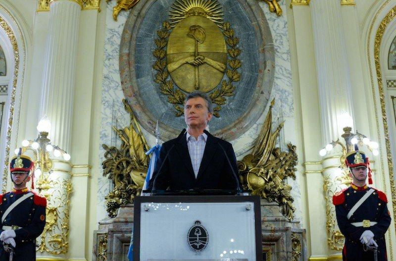 Mauricio Macri. (Foto: Presidencia de la Nación).
