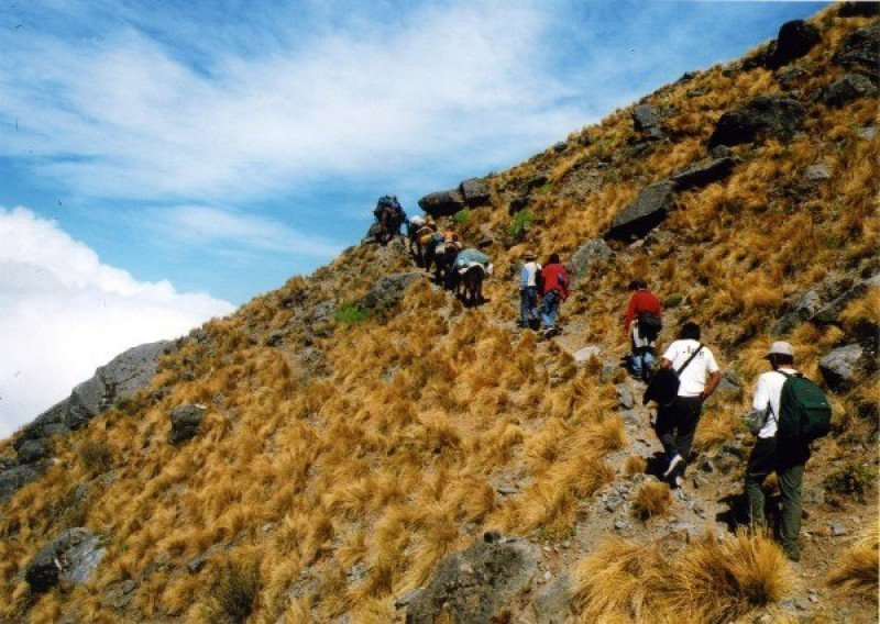 Trekking en Tucumán.