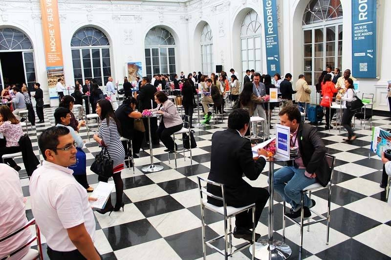 Speed Networking en el Museo de Arte de Lima.
