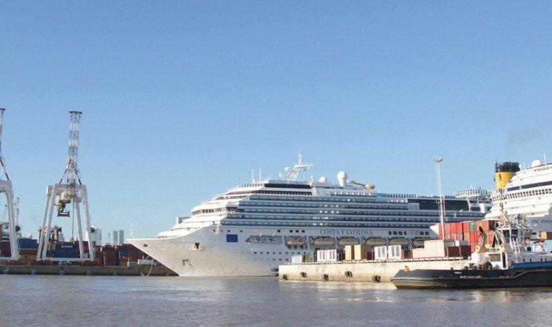 Con cuatro años de antelación deberán reservar fecha los cruceros en el puerto de Buenos AIres según las nuevas disposiciones.