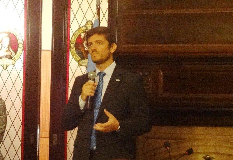 Sebastián Giobelina, presidente del ente autárquico Tucumán Turismo.
