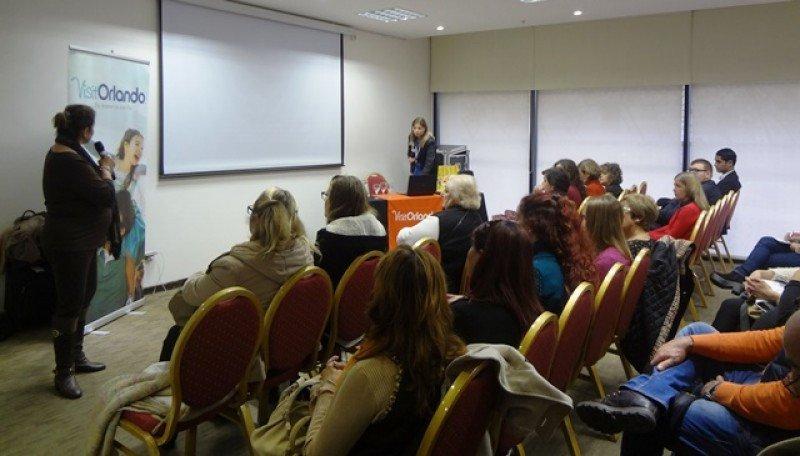 Presentación de Visit Orlando en Montevideo.