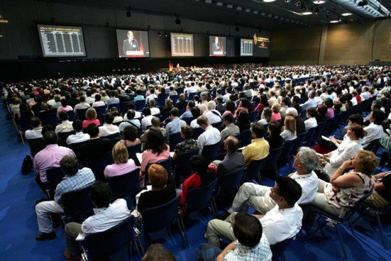 El Centro de Convenciones Internacional de Barcelona (CCIB).