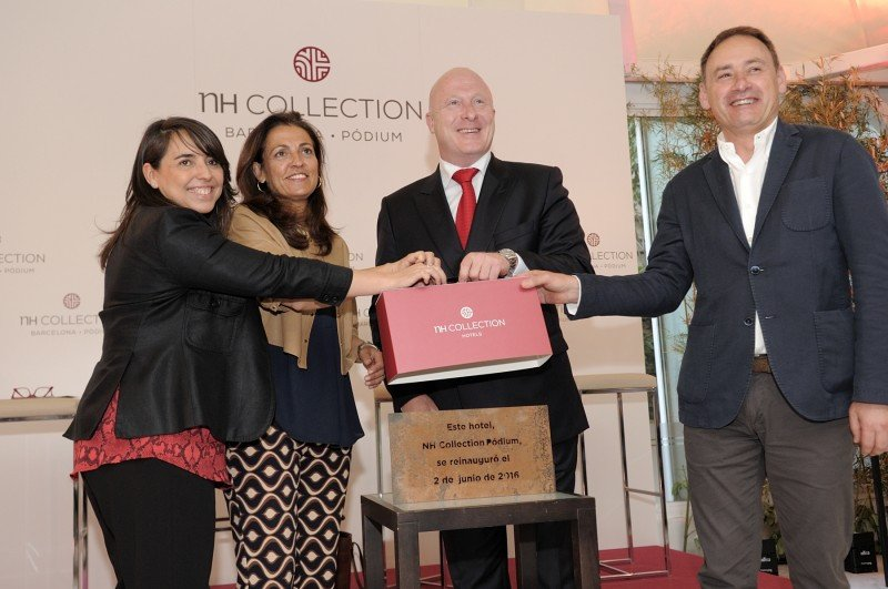 NH Collection Pódium reabre en Barcelona tras seis meses de reforma