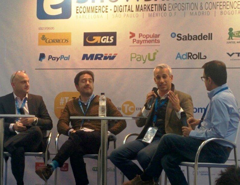 Algunos de los ponentes que participaron en la jornada de márketing digital turístico.